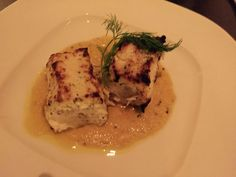 Michelin award winning fish dish from Tamarind (TriBeCa Indian fusion restaurant) NYC