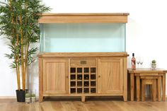 AquaOak- Premium Oak Aquariums www.fishkeeper.co.uk #Aquariums
