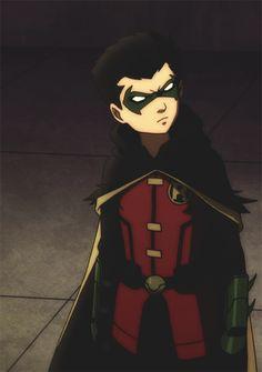 Damian Wayne - Robin *gif*