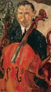 the cellist  Chaim Soutine