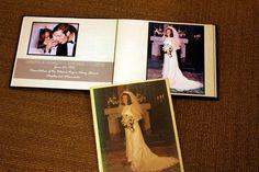 Take an aged wedding album from sad to fab!