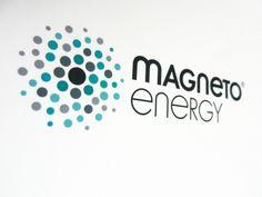 Project: Magneto Energy Logotype  Art Director: Daniele Venturini  Agency: Key Business Perugia  Client: Unitekno SpA