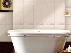 Palesa Ceramic Wall Listello - 300 x Mosaic Tiles, Wall Tiles, Tile Panels, Outdoor Tiles, Decorative Tile, Porcelain Tile, Corner Bathtub, Decor Styles, Tile Floor
