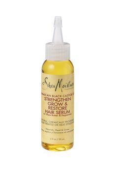 Shea Moisture Jamaican Black Castor Oil Strengthen & Grow Restore Hair Serum 2 Ounce