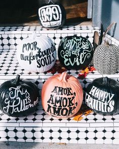 Today on Disney Style: Disney quote pumpkin stencils! Use the link in our bio to…