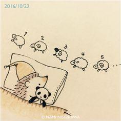 Hedgehog Drawing, Hedgehog Art, Cute Hedgehog, Hedgehog Illustration, Cute Illustration, Cute Animal Drawings, Cute Drawings, Doodle Art, Cute Art