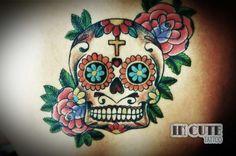 Calavera At In Cute Estúdio de Tatuagem. Rua Cardeal Arcoverde, 1905 11 3031-2531