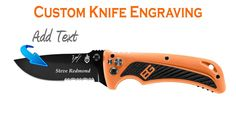 Amazon.com : Custom Laser Engraved Gerber Bear Grylls AO Knife : Sports & Outdoors