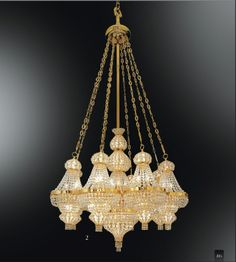 Ottoman Crystal CH953 Light Fittings, Light Fixtures, Ancient China, Gold Hands, Chandeliers, Oriental, Ottoman, Ceiling Lights, Crystals