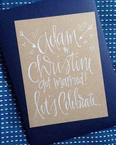 20 Elopement Wedding Announcements | SouthBound Bride