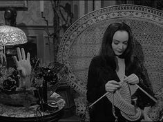 One More Stitch: Famous Knitters – Carolyn Jones
