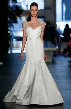 Was: $6,100 NOW: $4,899 Rivini - Sweetheart Mermaid Gown in Silk Duchess Satin