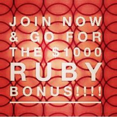 Seriously this $1000 bonus will be gone in 4 days!! If you don't get signed up now you will miss it.  Contact me to find out how you can do a trial membership. If it's not right for you, you can stop at anytime.