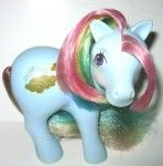 My Little Pony back in the day. Heart it!