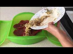 Escalopines con puerros en estuche de vapor Lekue - YouTube Tacos, Ethnic Recipes, Youtube, Food, Healthy Food, Ethnic Food, Cook, Healthy Recipes, Eating Clean