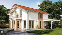 Unser SOLUTION 134 - V7.   #Haus #Fertighaus #Hausbau #Ausbauhaus #Flexibilität #Einfamilienhaus #House #LivingHaus