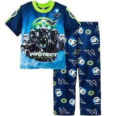 NEW Disney Star Wars Rule the Galaxy PJs NWT 2 Piece Pajamas  4 5 6 7 8 Polyeste