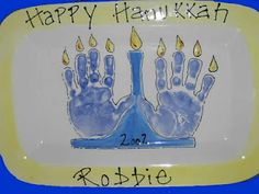cute hand print craft