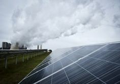 Germany Breaks Its Own Record For Solar Power Generation - Grey sky Germany #1 for solar!