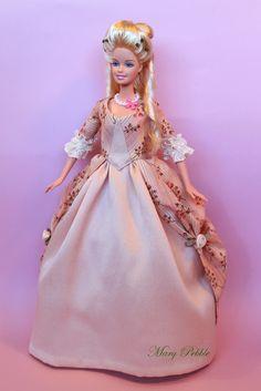 El Atelier de Mary: Odette en Versalles #barbie #fashiondoll #rococo