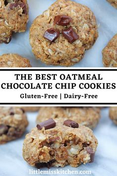Ingredients: 1 1/2 cups of 1:1 gluten-free baking flour 2 1/2 cups of gluten-free old fashioned rolled oats 1 teaspoon of baking soda 1/2 teaspoon of cinnamon 1/2 teaspoon of sea salt 1/2 cup of coconut sugar 12 tablespoons of coconut oil - room temperature but solid 2 eggs - make sure these are room temperature if using coconut oil 1 teaspoon of vanilla 1 tablespoon of molasses