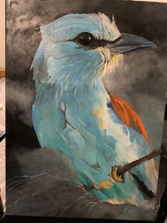 Olejomalba...tento pták je krásně zbarven..chtěla bych ho tak vidět na živo..dříve ho bylo hojně v ČR,dnes už tomu tak není. Painting, Art, Art Background, Painting Art, Kunst, Paintings, Performing Arts, Painted Canvas, Drawings