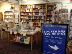 Bookends & Beginnings is a bookstore that's both local and online