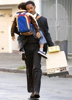 Will & Jaden Smith in The Pursuit Of Happyness