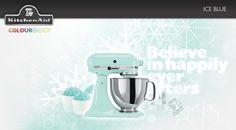 Ice Blue #KitchenAid #StandMixer
