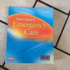 Sheehy's Manual of Emergency Care, 7e Newberry, Sheehy's Manual of Emergency Care $52.95 Now for sale on Ebay http://www.ebay.com/itm/282149553985?ssPageName=STRK:MESELX:IT&_trksid=p3984.m1586.l2649 #Books #Textbooks #Education #emergencycare #august2016 #Nursing #nursingbooks #booksforsale #usedbooksforsale #schoolbooksforsale #education #textbooks #bookstore #bookshelf #NewMonth #september2016
