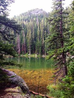 Dream Lake, Estes Park, Colorado. This is another great hike. You start out at Bear lake and hike up to three more lakes. http://itz-my.com