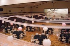Decorating Gym S For Wedding Receptions