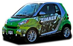 Smart Car Wraps, Vehicle wraps, car wraps, DC, MD, VA, NC, SC