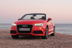 the AUDI A3 cabriolet fascinates with new lightweight design
