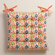 One Of My Favorite Discoveries At WorldMarket.com: Multicolor Ikat Chair  Cushion