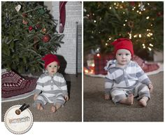 HOW TO TAKE A BETTER PICTURE OF YOUR KIDS IN FRONT OF THE TREE