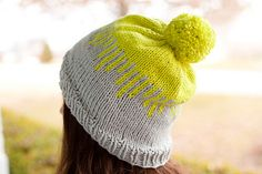 DRIPS  by Bethany Hill    Published in  The Pretty Little Fiber Co.  knitting pattern