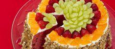 Bolo de melancia e granola - Lucilia Diniz