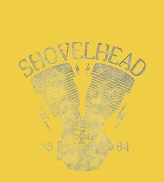 Shovelhead Motorcycle Engine