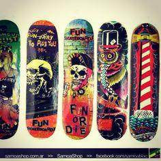 tablas de skate vans
