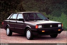 '88 VW Fox. This was my grandpas last car he owned, his was actually a 1984 or 85 but it was this brown color. I remember thinking it was the best car I'd ever sat in because the radio would turn on without having to put the key in the ignition, and was sad when my dad sold it.