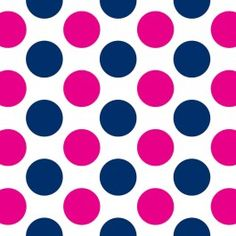 navy and pink dot fabric - for the nursery closet and girls quilt