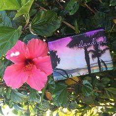 Island Girl coin purse by mickisalazar on Etsy