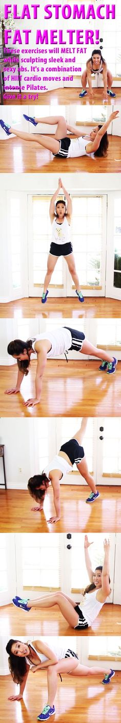Flat Stomach Fat Melter! #abs #sixpack #flatbelly #flatstomach #burnfat #abworkout #coreworkout #abexercise #coreexercise