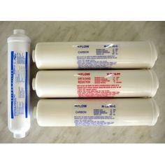 Juego filtros previos postfiltro membrana osmosis inversa - Filtros de osmosis ...