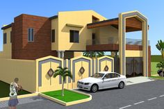 Projet dextension dune villa a Banjul en Gambie, Banjul, Albert Kwessi