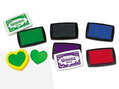 Lakeshore Washable Ink Pads Set at Lakeshore Learning
