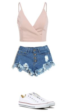 """Untitled #267"" by jess-71 ❤ liked on Polyvore featuring Converse"