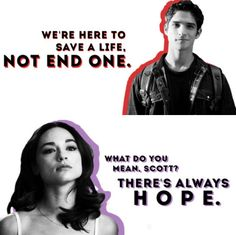 Teen Wolf - Inspirational quotes