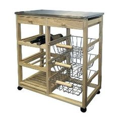 movable kitchen islands with storage | Portable Kitchen Island Carts from Target Kitchen Furniture